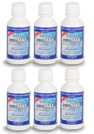 6 intraMAX travel size bottles
